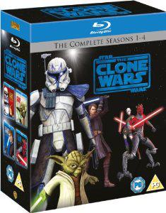 Star Wars The Clone Wars L'intégrale des 4 saisons (12 Blu-ray)