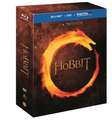 Jusqu'à 50% de réduction sur une sélection de DVD/Blu-ray - Ex : Coffret Blu-ray Trilogie Le Hobbit