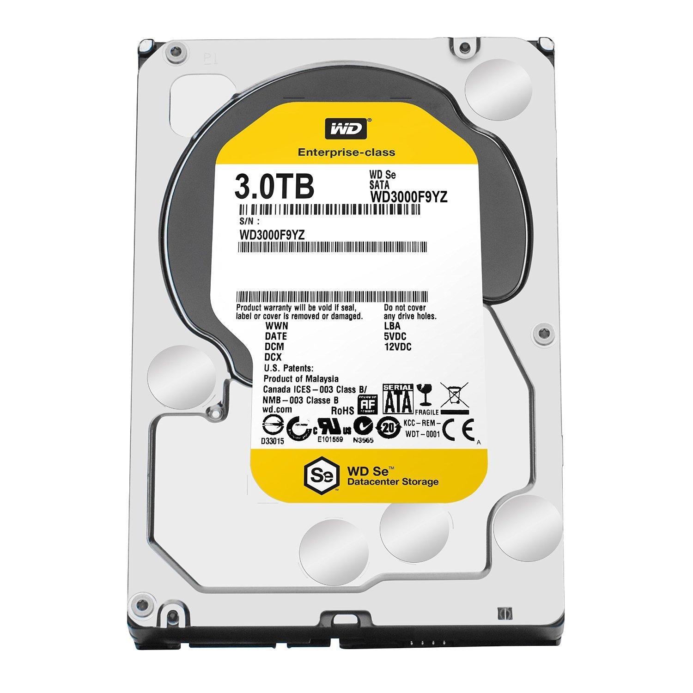 """Disque Dur interne 3.5"""" Western Digital SE WD3000F9YZ - 3 To, SATA 6Gb/s, 7200 tr/mn"""
