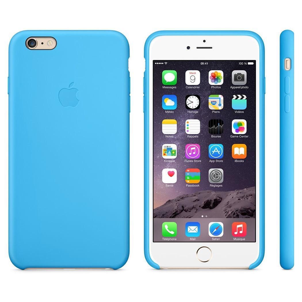 Coque en silicone Apple pour iphone 6/6s Plus