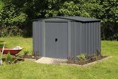 Abri de jardin en métal - 4.6 m²