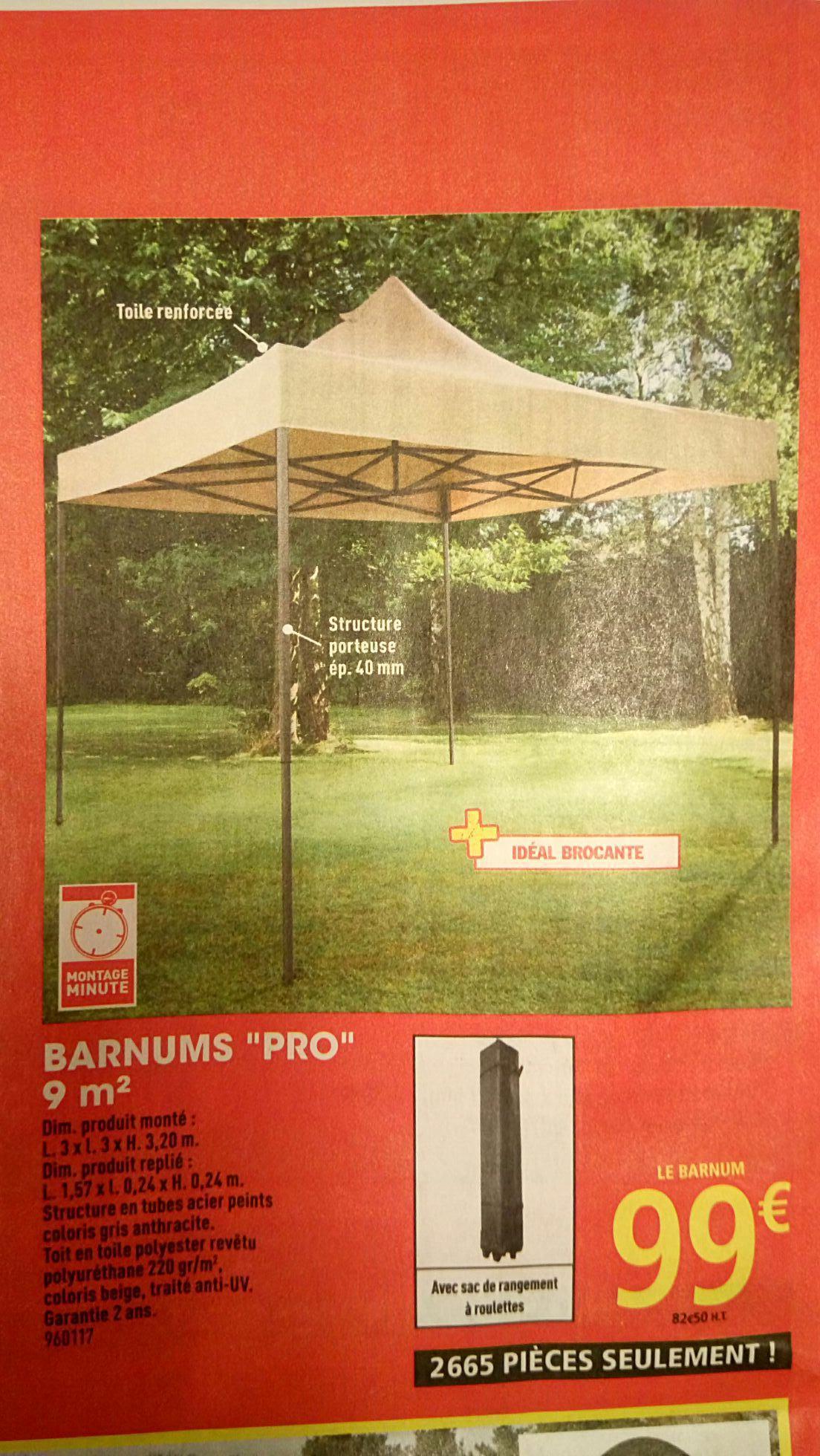 Tente Pliable Barnums Paddock Pro 9 m²