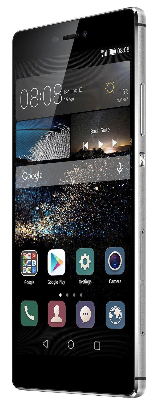 Smartphone 5.2'' Huawei P8 - 16 Go, Argent (via ODR de 70€)