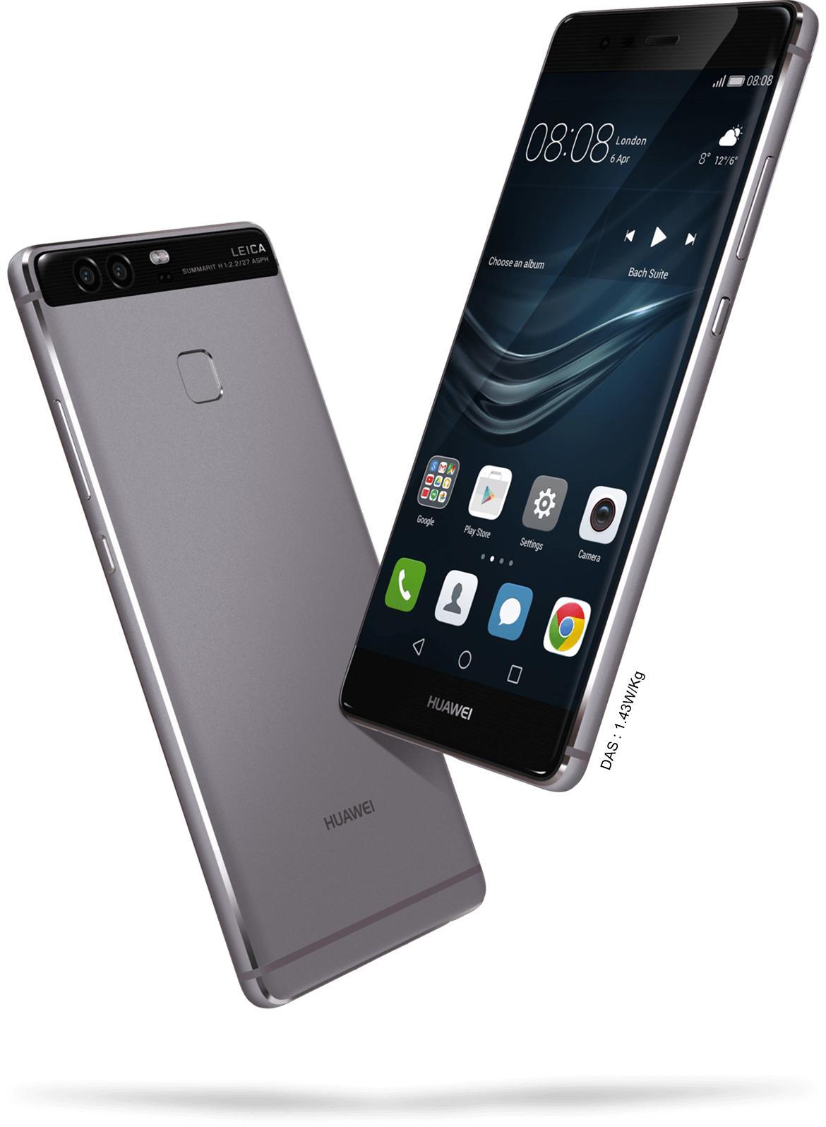 """[Pré-commande] Smartphone 5.2"""" Huawei P9 (via ODR 50€) + carte micro sd 128Go offerte"""