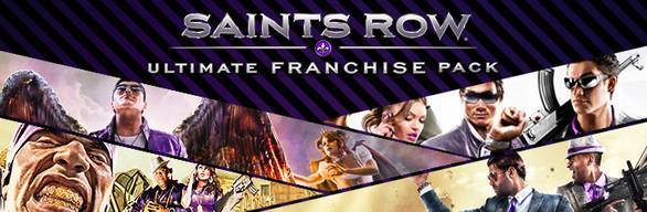 Saints Row Ultimate Franchise Pack (Dématérialisé - Steam)