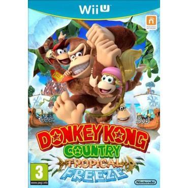 Sélection de jeux Wii U en version normale - Ex: Donkey Kong Tropical Freeze, Mario, Zelda