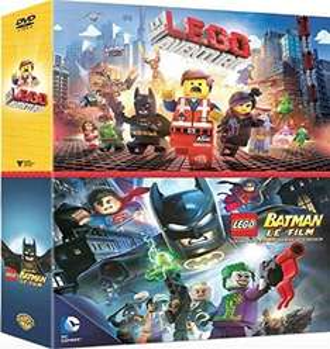 Coffret DVD La Grande Aventure Lego & Lego Batman : le Film