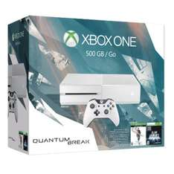 Console Microsoft Xbox One 500 Go + Quantum Break + Alan Wake