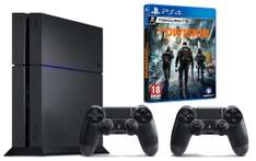 Pack console Sony PS4 (1 To) + 2ème manette + Tom Clancy's The Division