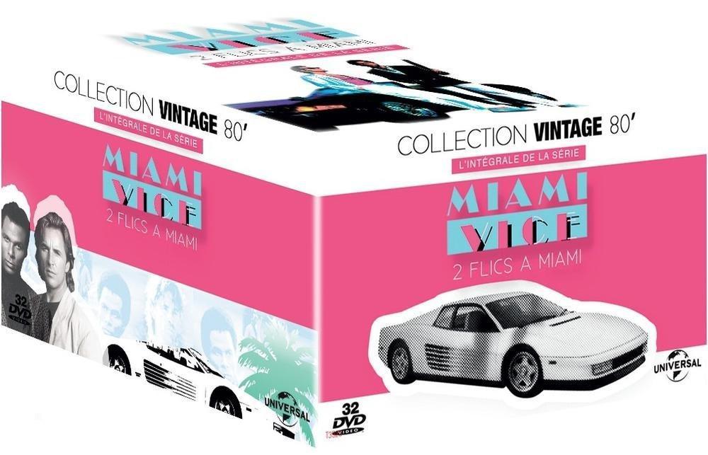 Coffret DVD Deux flics à Miami - L'Intégrale des 5 saisons
