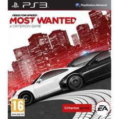 Need For Speed Most Wanted PS3 et XBOX 360