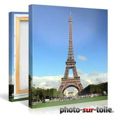 Grande toile photo (80x60, 100x75 ou 120x80 cm)