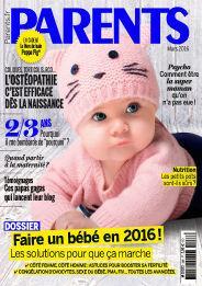 Abonnement d'1 an au magazine Parents Petit Format + Trio ourson