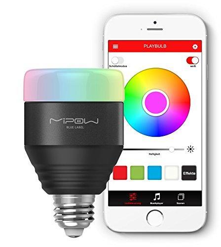 Ampoule connectée RVB Mipow Playbulb - Bluetooth 4.0 - E27 - 280lm