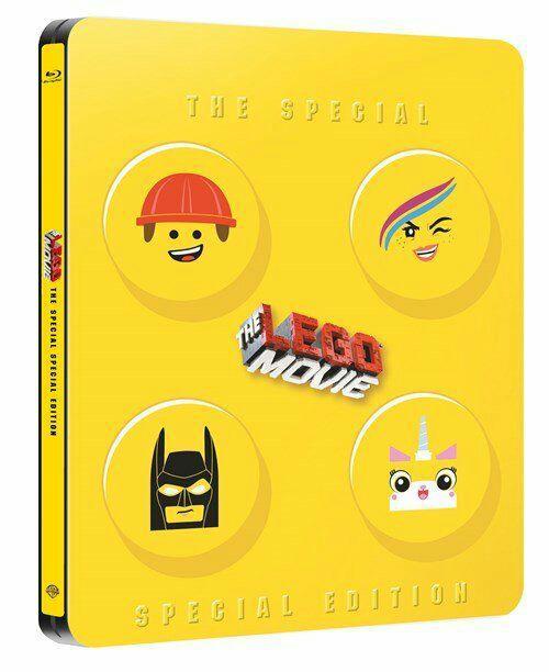 Blu-ray La Grande Aventure Lego - Édition Spéciale Boîtier SteelBook