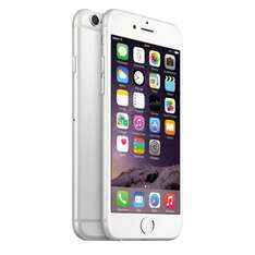"Smartphone 4.7"" Apple iPhone 6 - 128 Go, gris + batterie de secours Lazer (500 mAh)"