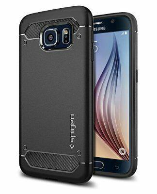 Coque Spigen Ultra Rugged pour Galaxy S6 - Noir