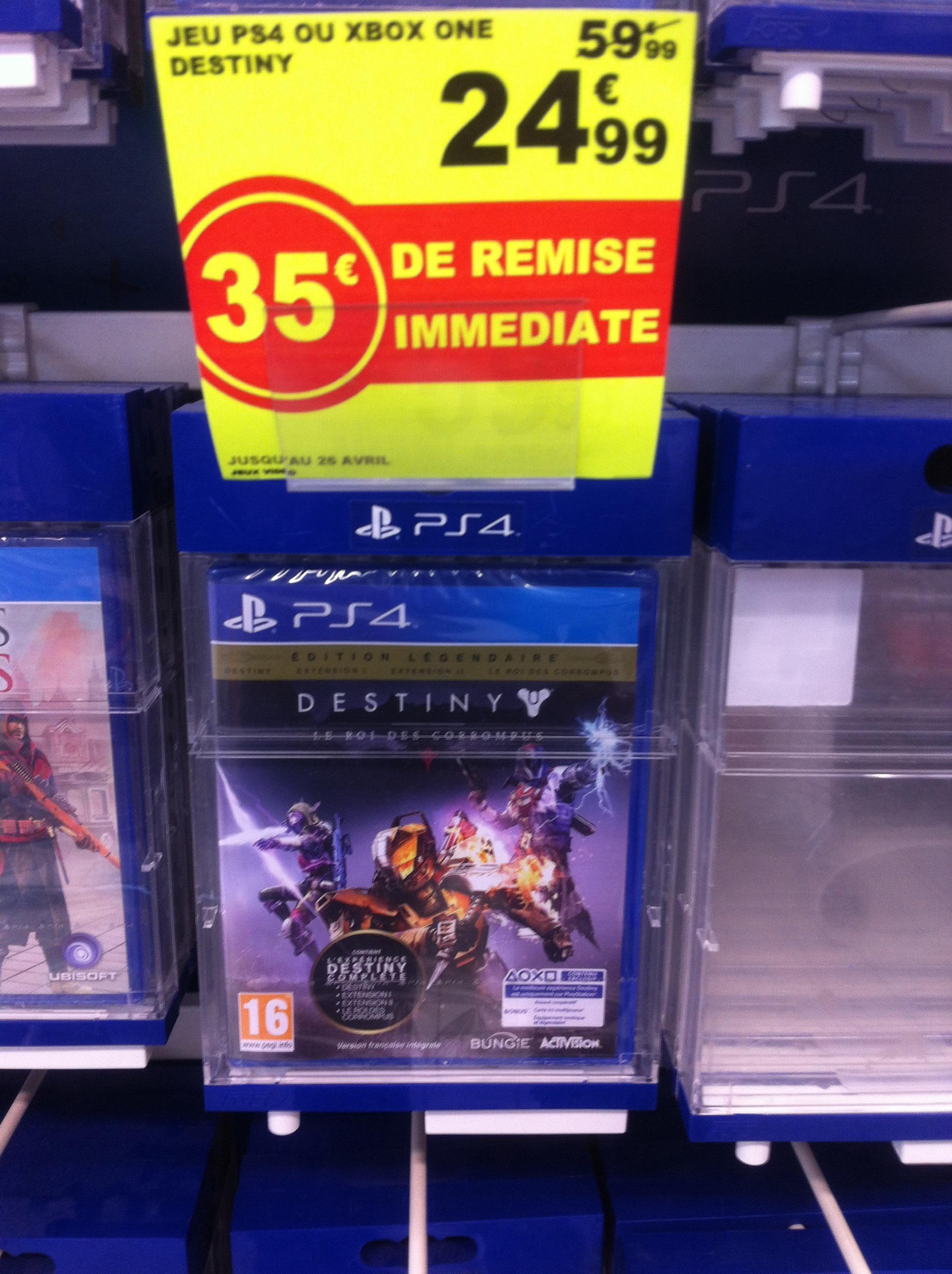 Destiny : Le Roi des Corrompus sur PS4 et Xbox One