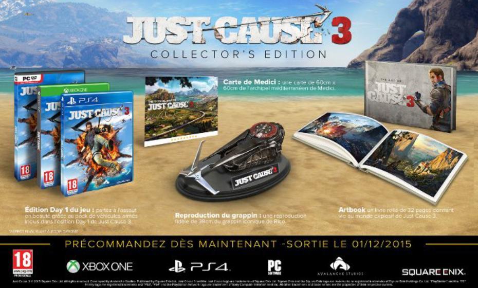Jeu Just Cause 3 sur PS4 - Édition Collector