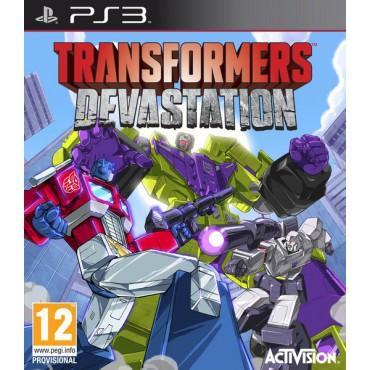Sélection de Jeux Vidéo en promotion - Ex: Jeu Transformers Devastation sur PS3