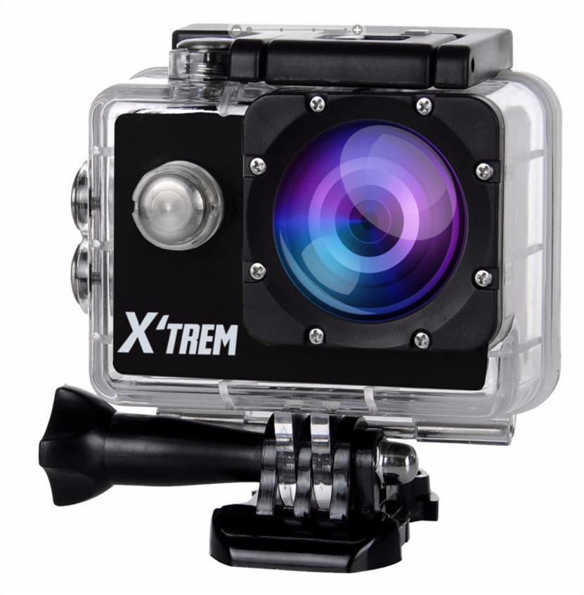 "Camera sport 2"" X'Trem (HD720p, CMOS 1,3 M) + accessoires"