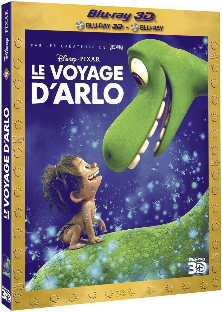 Coffret Blu-ray Le Voyage d'Arlo (Blu-ray 3D + Blu-ray 2D)