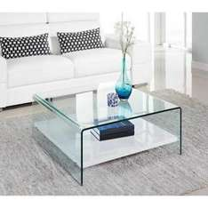 Table basse Clear - 80 x 80 cm