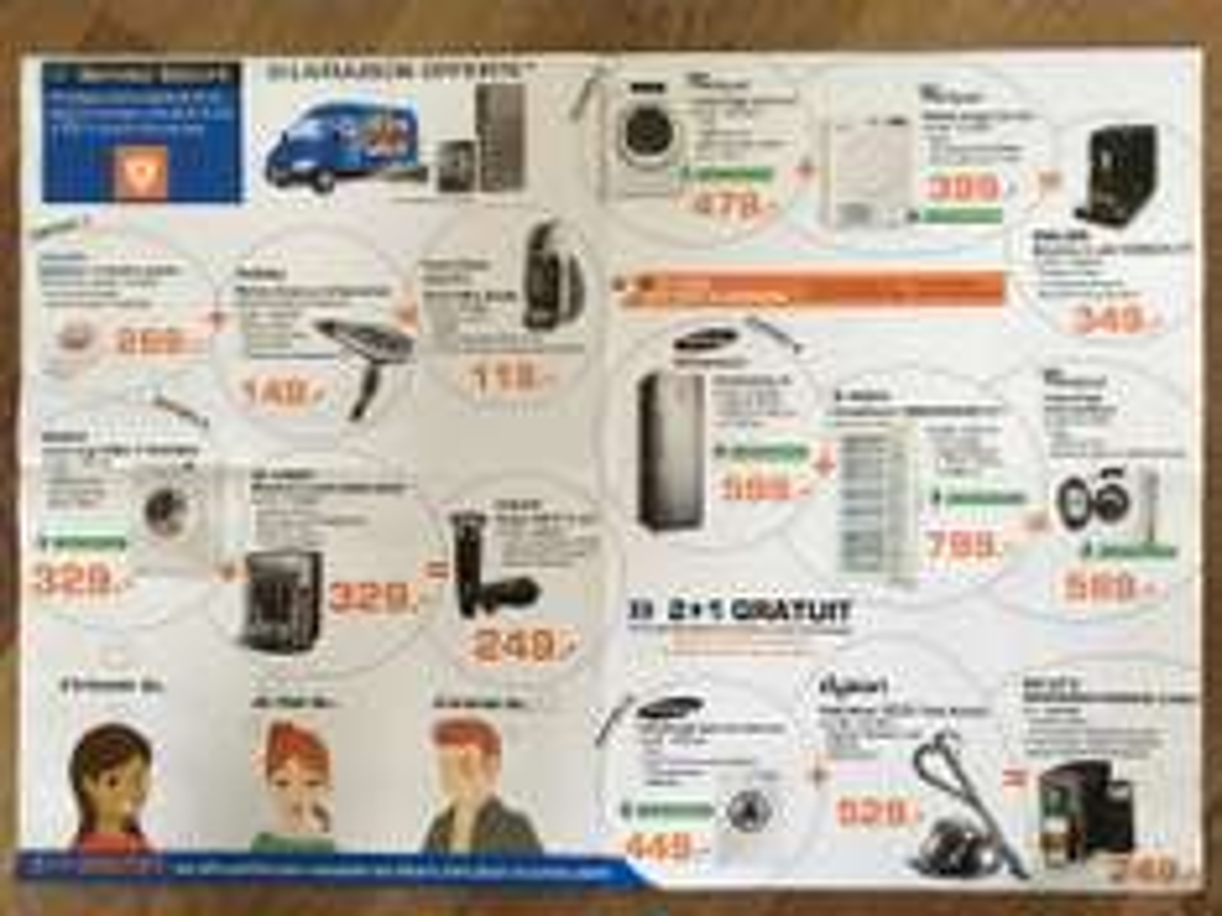 2 produits électroménager achetés = 1 offert - Ex : Réfrigérateur Samsung RR35H6000SA/EG + Congélateur Bosch GSN58AW30 = Lave-linge Whirlpool FSCR 80621 offert