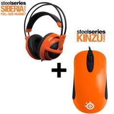 Steelseries Siberia v2 Orange + Kinzu v2 Orange