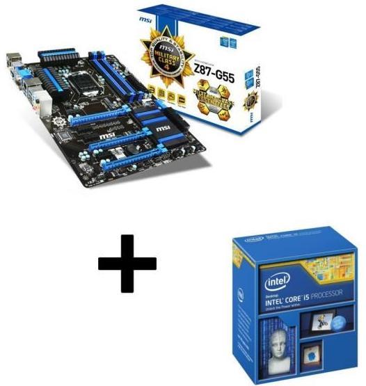 [Cdiscount à Volonté] Kit Evo Processeur Intel Core i5-4690K +  Carte mère MSI Z87-G5