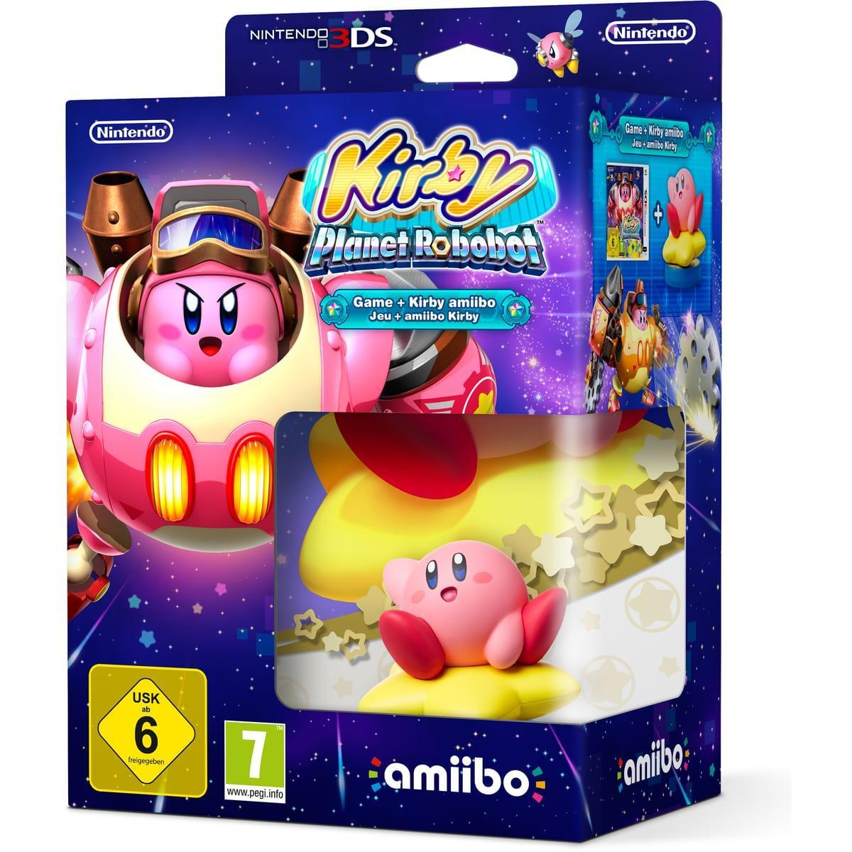 [Précommande] Kirby Planet Robobot sur 3DS + Amibo Kirby + Notebook offert