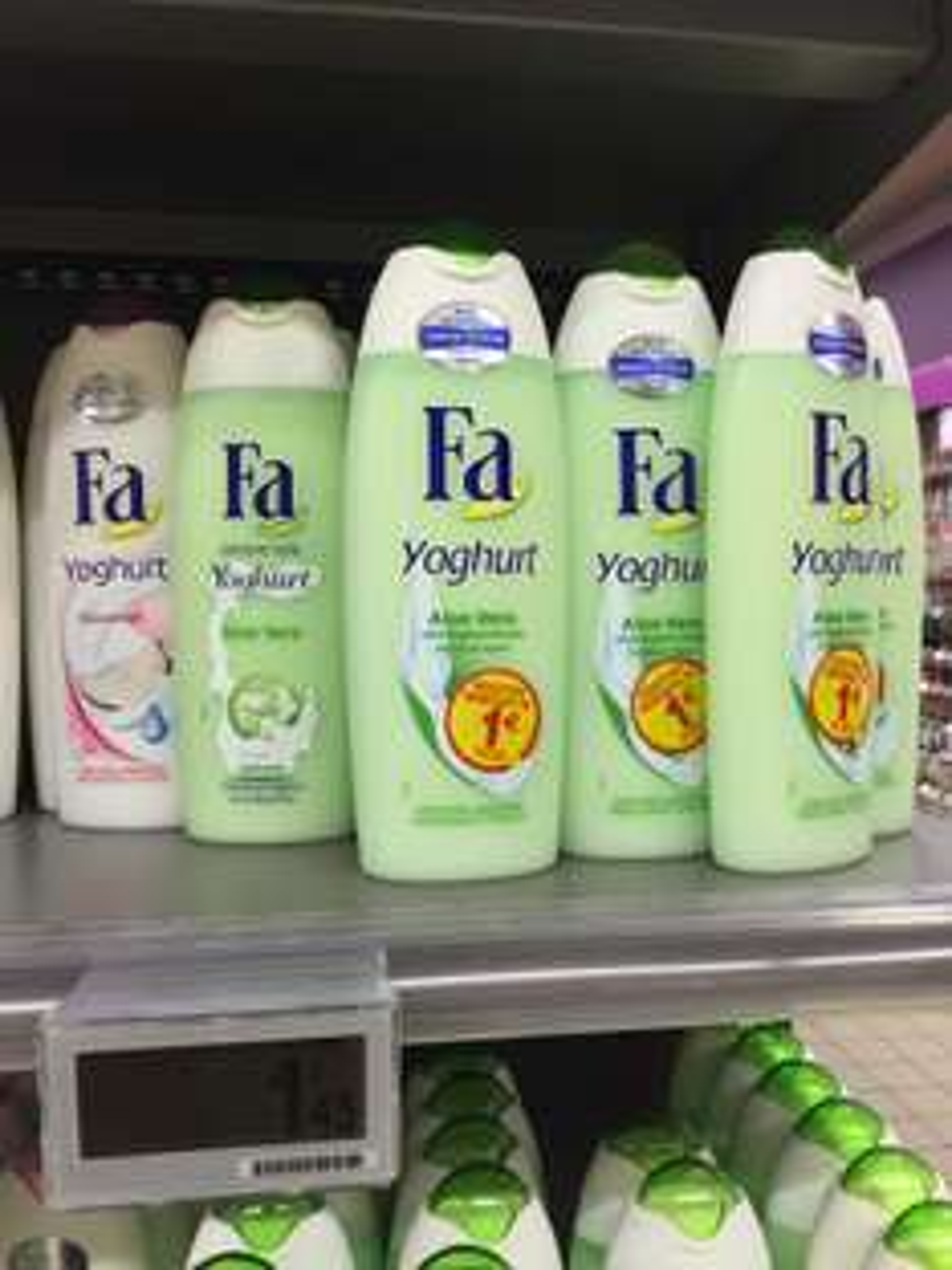 Gel douche FA Yoghurt - Différents parfums (via remise immédiate de 1€)