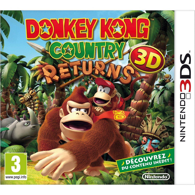 Donkey Kong Country Returns + 1 porte-clés Banane Donkey Kong