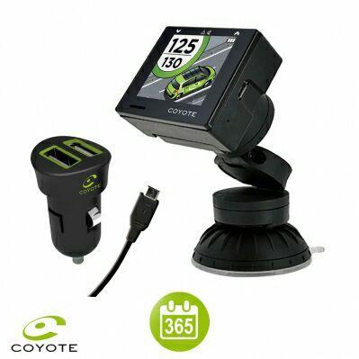 Assistant d'aide à la conduite Coyote Oyo + accessoires + 12 mois d'abonnement
