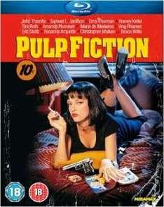 Blu-Ray Pulp Fiction (En anglais) - Version 2011 en 1080P et DTS-HD