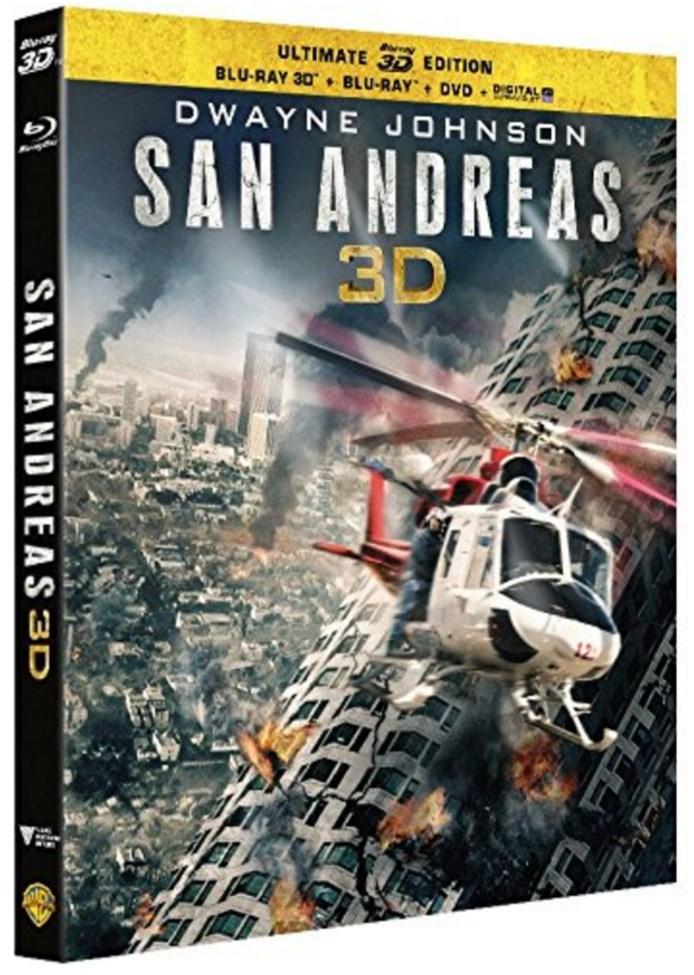 Coffret Blu-ray + 3D + Numérique : San Andreas