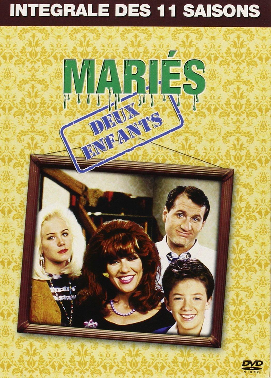 Coffret DVD Intégrale Mariés deux enfants (11 saisons)