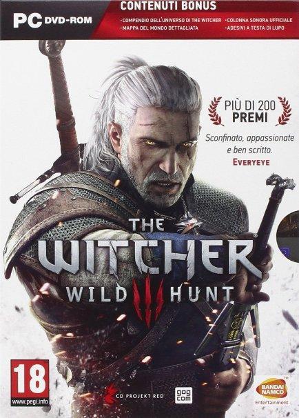 The Witcher 3: Wild Hunt - Edition avec carte, bande originale, autocollants sur PC