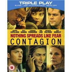 Contagion Triple Play / Blu-ray + DVD + UV Digital Copy