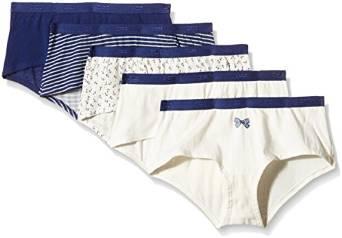 Lot de 5 Boxers Dim - Pockets Coton  - Femme Couleur Rose