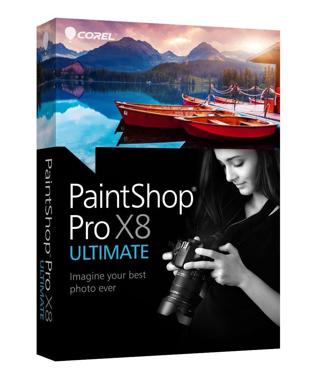 Logiciel Corel PaintShop Pro X8 Ultimate sur PC