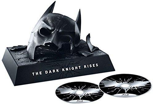 Coffret Blu-Ray Batman The Dark Knight Rises avec masque (+ DVD + version numérique)