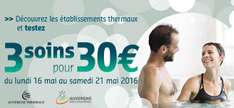 3 soins thermaux