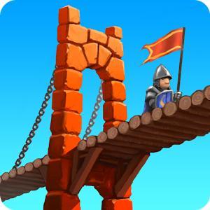 Bridge Constructor Médiéval sur Android