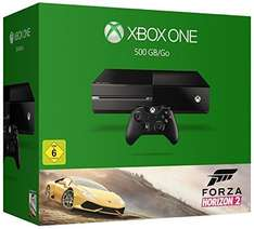 Pack Console Microsoft Xbox One 500 Go + Forza Horizon 2 (Reconditionné)