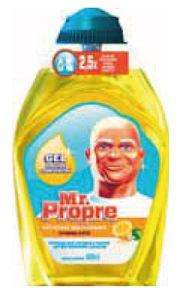 Gel Mr Propre gratuit - 400 ml (Via BDR)