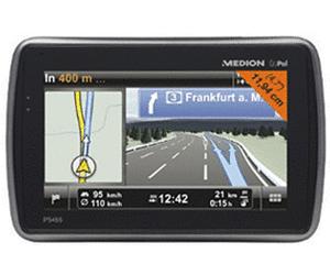 """GPS Medion Gopal P5455 4,7"""" Europe, V-trafic, Bluetooth, commande vocale, Clever Routes, transm. FM (autres voir description)"""