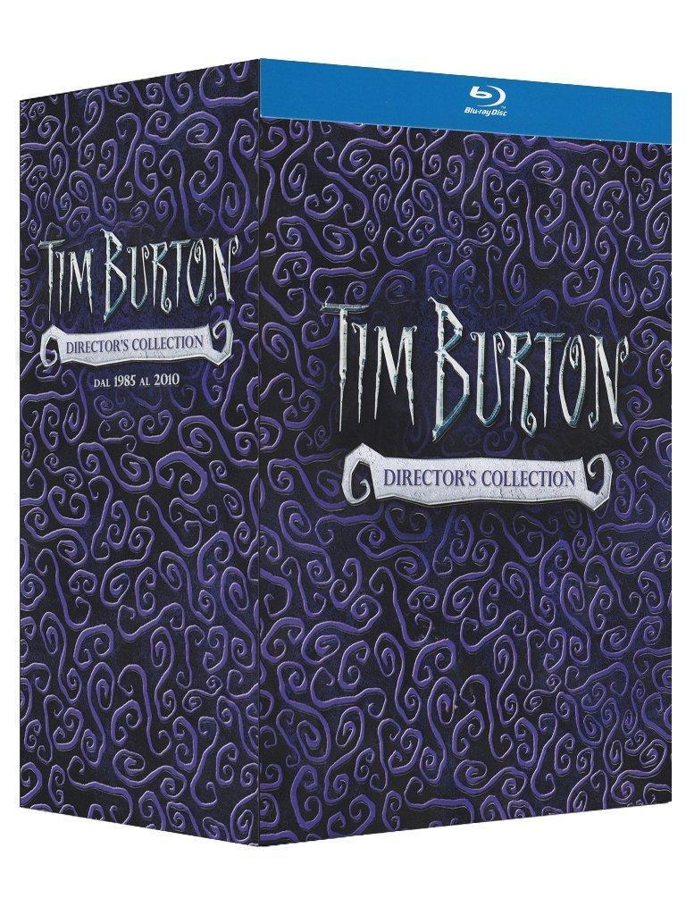 Sélection de coffrets Blu-ray en promotion - Ex : coffret Tim Burton - Director's Collection (13 Blu-ray + DVD + livre)