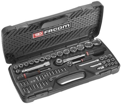 "Coffret de serrage Facom RS.440E - 1/4"" + 1/2"""