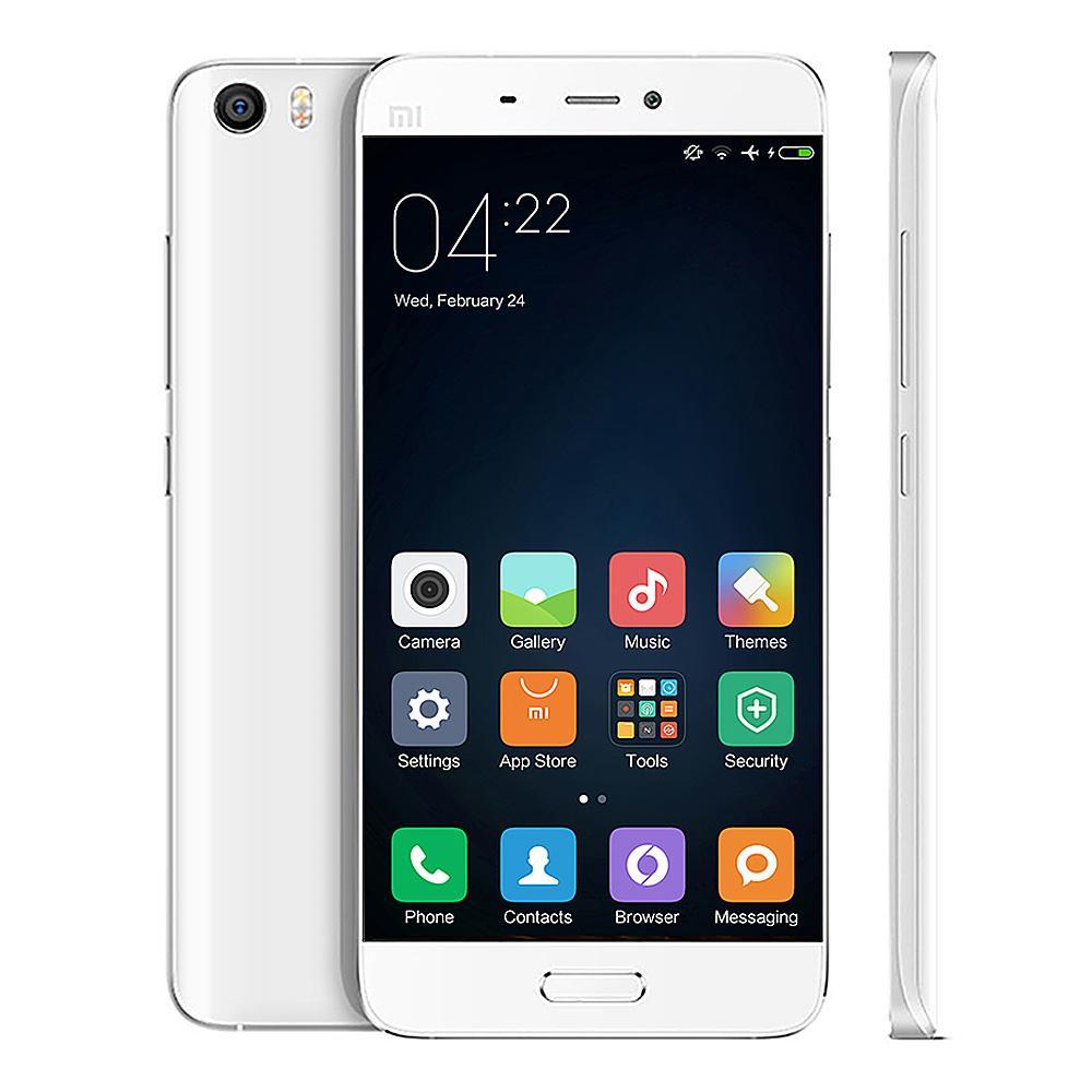"""Smartphone 5.15"""" Xiaomi Mi5 Blanc - RAM 3 Go, ROM 32 Go, Double SIM"""